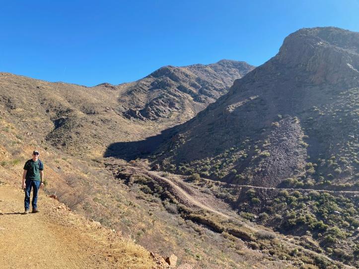 Franklin Mountains in El Paso, TX